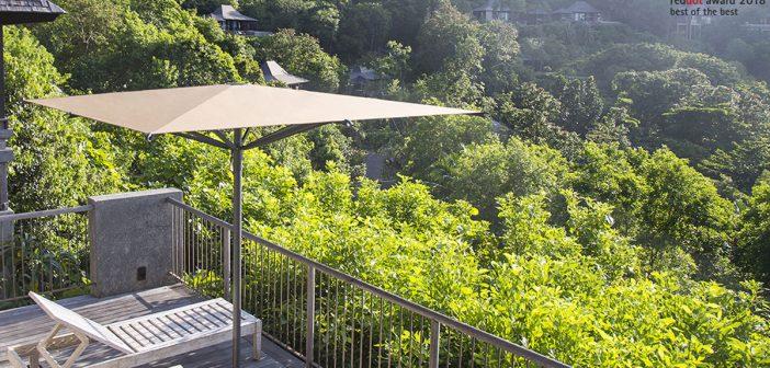 Balkonschirme – Sonnenschutz für den Balkon